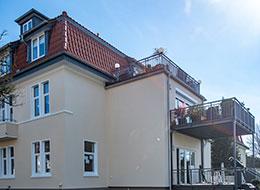 Klein und Hopfinger - Wartungsarbeiten am Dach - Bielefeld